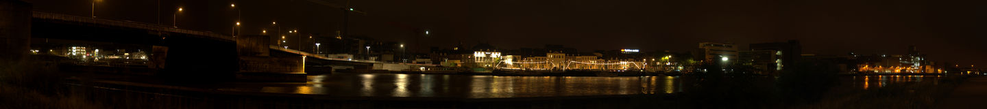 Maastricht. A widescreen picture of maastricht, the netherlands Royalty Free Stock Photography