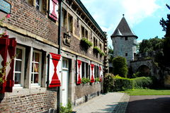 House in Maastricht, Holland  Royalty Free Stock Photography