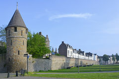Maastricht City Wall Royalty Free Stock Images