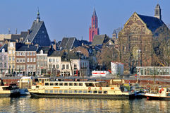 Maastricht cityscape Royalty Free Stock Photography
