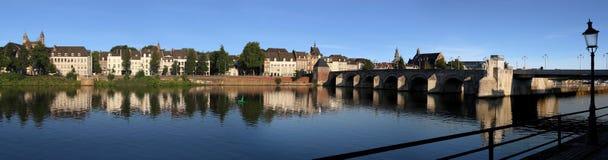 Maastricht, in den Niederlanden Stockbild