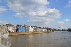 Maastricht in den Niederlanden Stockbild