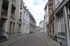 Maastricht i Nederländerna Arkivbilder