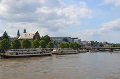 Maastricht i Nederländerna royaltyfria foton