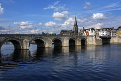Maastricht - les Pays-Bas image stock