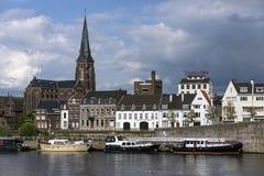 Maastricht - Limbourg - les Pays-Bas Images libres de droits