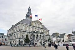 Maastricht, Nederland - Huis in de stad Royalty-vrije Stock Foto