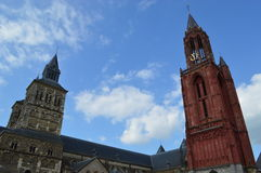 Maastricht nei Paesi Bassi Fotografia Stock Libera da Diritti