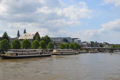 Maastricht in Netherlands. The scenery of Maastricht in Netherlands royalty free stock photos