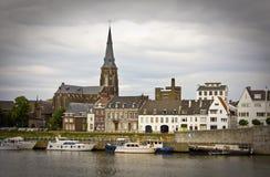 Maastricht, Países Bajos Imagen de archivo libre de regalías