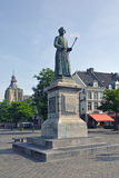 Maastricht statue of Jean Pierre Minckelers inventor Royalty Free Stock Photography