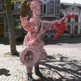 Maastricht statuy główny plac Zdjęcia Royalty Free