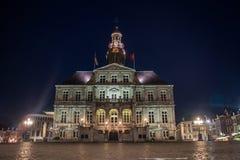 Maastricht urząd miasta Zdjęcie Royalty Free