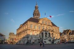 Maastricht urząd miasta Fotografia Royalty Free