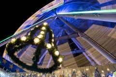 Maastricht Winterwonderland Magisch maastricht Stock Image