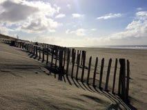 Maasvlakte strand Slufterstrand royaltyfri fotografi