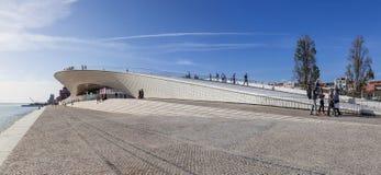 MAAT -艺术馆、建筑学和技术 图库摄影