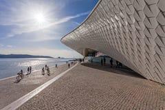 MAAT - Kunstmuseum, Architektur und Technologie Stockbilder