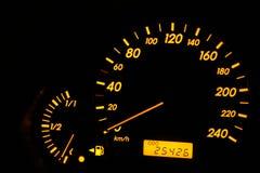 Maat van brandstof Stock Foto's