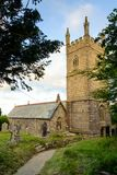 Mabe-Kirche, Cornwall Lizenzfreie Stockbilder