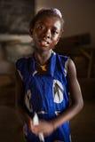 Mabendo, малая деревня в Сьерра-Леоне, Африке Стоковое фото RF