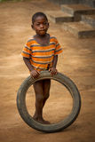 Mabendo, small village in Sierra Leone, Africa Royalty Free Stock Images