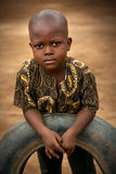 Mabendo, small village in Sierra Leone, Africa Stock Image