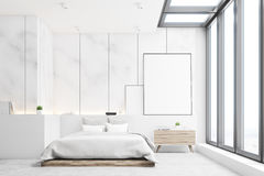 Mable bedroom, front Royalty Free Stock Photos