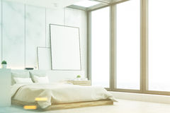 Mable bedroom, side, toned Royalty Free Stock Photography