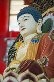 Mable Buddha In Chinese Style blanco Foto de archivo