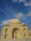 Mable palace at Taj Mahal in Agra, India.  Royalty Free Stock Photos