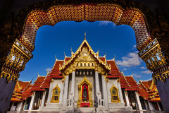 Mable Temple or Benjamabopit temple Royalty Free Stock Photo