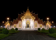Mable Temple at night Royalty Free Stock Photos