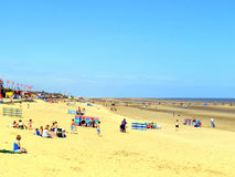 Mablethorpe beach, Lincolnshire. Royalty Free Stock Photos