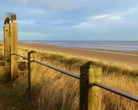 Mablethorpe Beach Royalty Free Stock Image