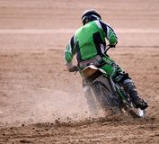 Mablethorpe sand race Royalty Free Stock Photo