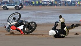 Mablethorpe Sand Racing Royalty Free Stock Images