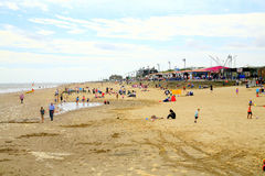 Mablethorpe Sands. royalty free stock photos