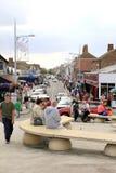 Mablethorpe stad, Lincolnshire Arkivfoton