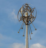 Mablethorpe Star. Light on the promenade Royalty Free Stock Photo