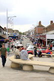 Mablethorpe town, Lincolnshire. Stock Photos