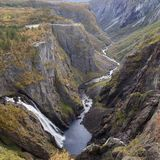 The Mabodalen Valley Royalty Free Stock Photography