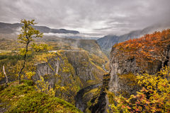Mabodalen valley, Norway Stock Photos