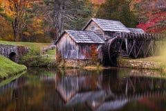 Mabry maler, blåa Ridge Parkway, Virginia Royaltyfria Foton