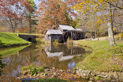 Mabry Mill. On the Blue Ridge Parkway Stock Images
