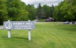 Mabry Mill, Blue Ridge Parkway Stock Image