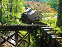 Mabry Mill. On the Blue Ridge Parkway in southwestern Virginia, USA Stock Photo