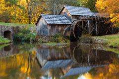 Mabry Mill, Blue Ridge Parkway Royalty Free Stock Photos