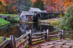 Free Mabry Mill, Blue Ridge Parkway, Virginia Stock Photography - 82732282