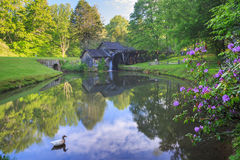 Mabry Mill Blue Ridge Parkway Virginia Royalty Free Stock Image